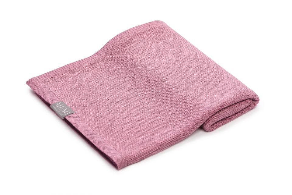 bambusowy-otulacz-lekki-kocyk-z-jonami-srebra-100×100-vintage-pink-memi_1
