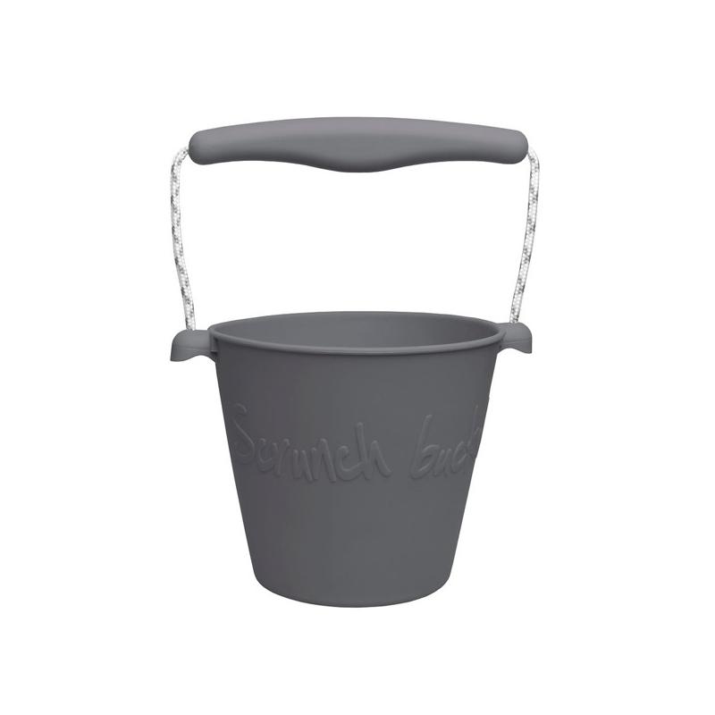 skladane-wiaderko-do-wody-i-piasku-scrunch-bucket-ciemny-szary