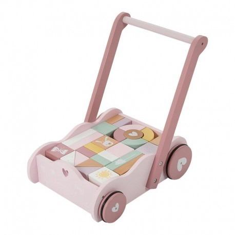 wozek-z-klockami-pink-rozowy-drewniany-pchacz-montessori-little-dutch