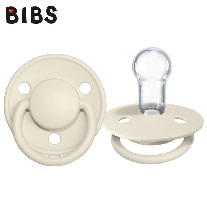 bibs-de-lux-ivory-one-size-smoczek-uspokajajacy-silikonowy