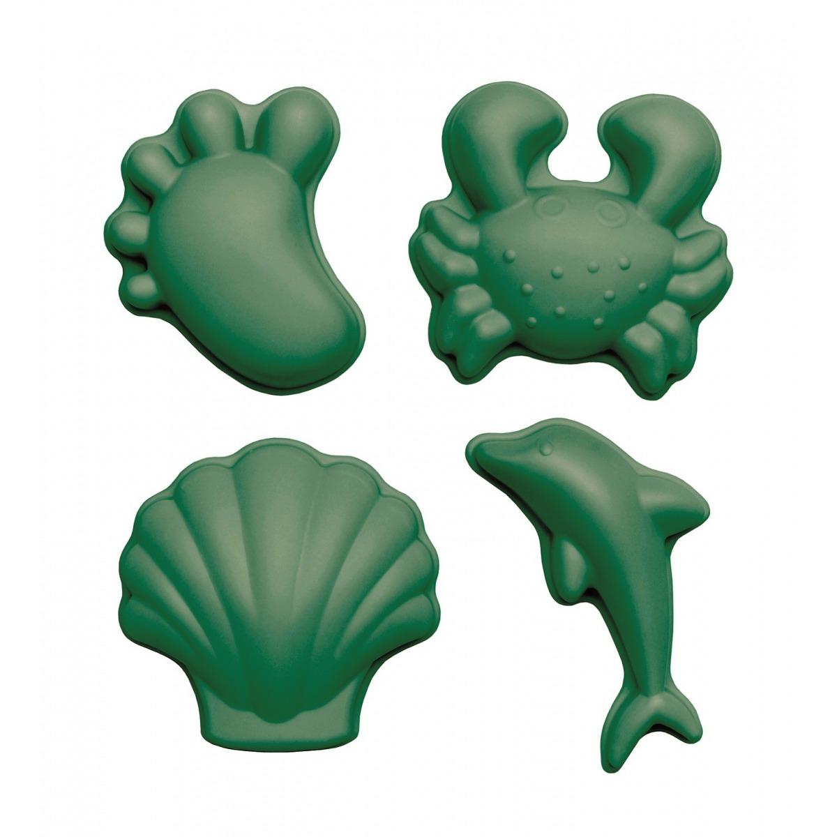 silikonowe-foremki-do-piasku-4-szt-scrunch-ciemny-zielony